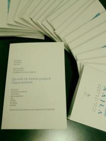 Najla, d'Omar Abi Azar, publié avec Amers Editions